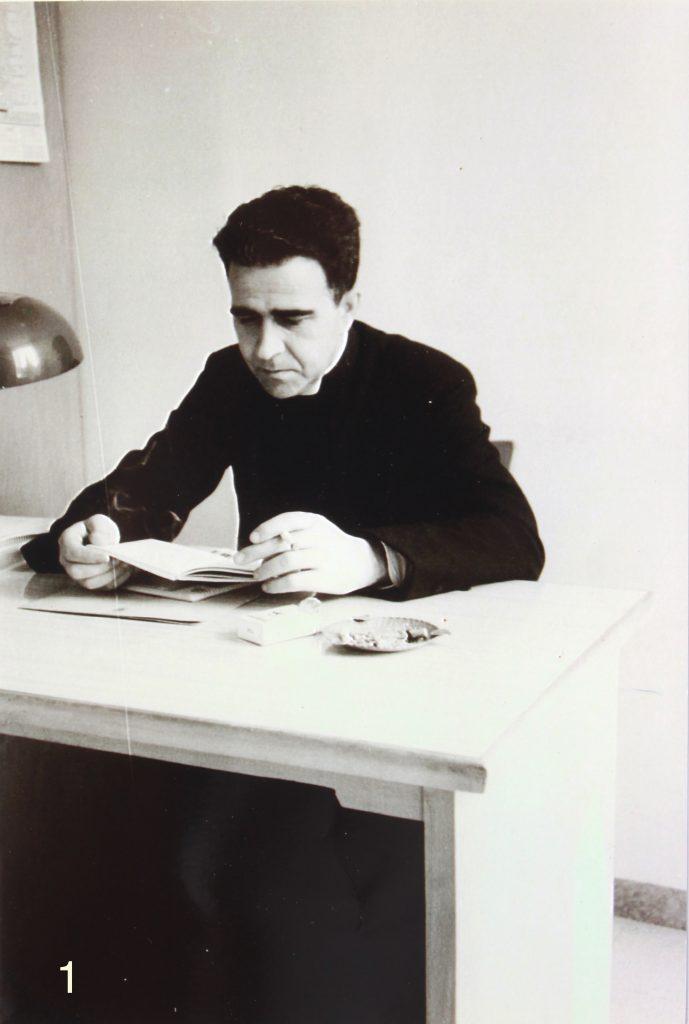 Mn. Ramon Prat i Creus, primer ecònom de la parròquia.