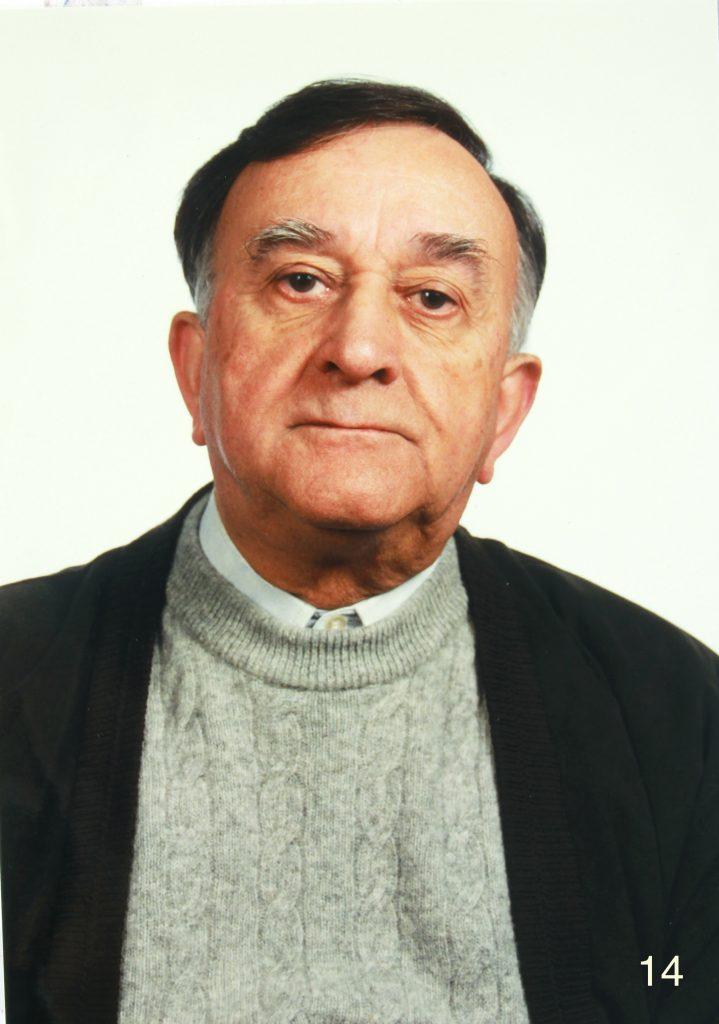 Mn. Jaume Serra, rector de la parròquia entre 1979 i 2010.