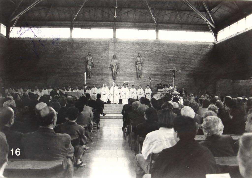 Ofici del dia del Sant Crist d'Igualada de 1990, 400 aniversari de la suor de sang.